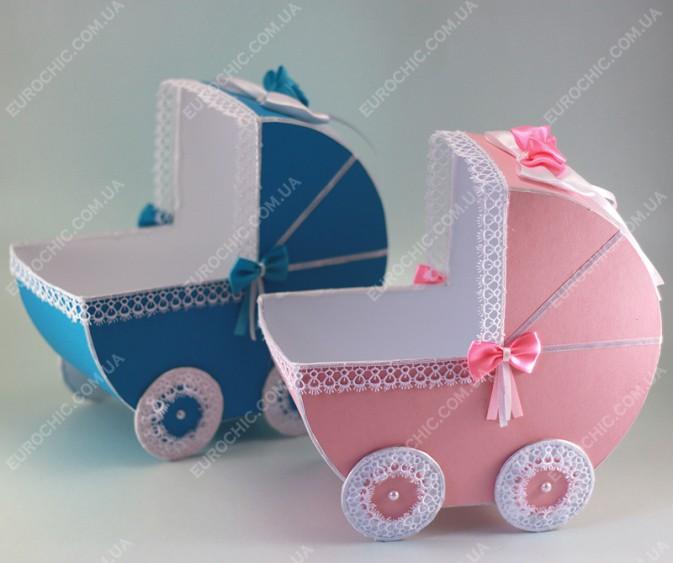 Как сделать коляску на свадьбу