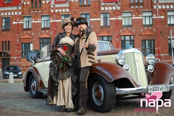 Свадьба в цилиндрах фото