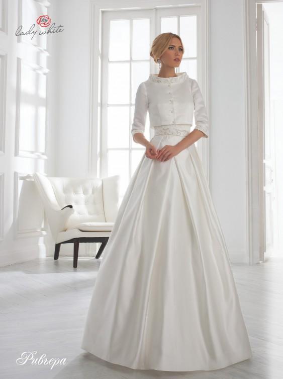 Іоланда Весільна сукня 2015  колекція ТМ Lady White «Universe». b4d2a50bc1a2f