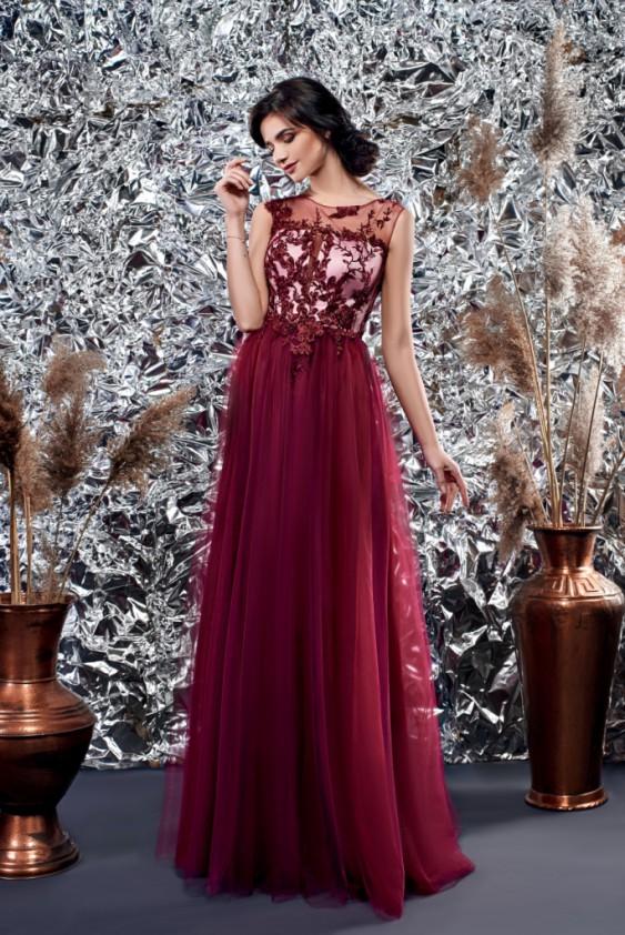 Вечірнє плаття на випускний. Можливі інші кольори. Вечірня сукня на  випускний кольору марсала ... b1fd9579d018f