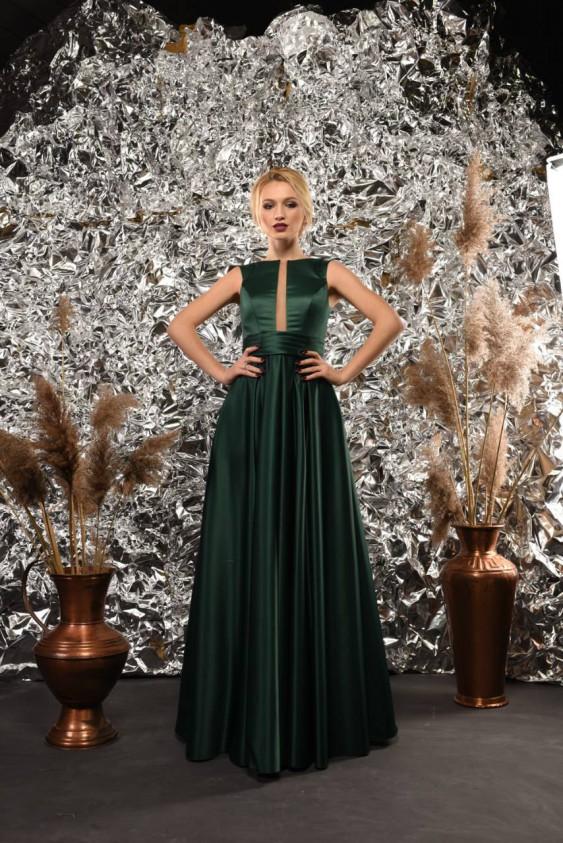 ... Вечірня сукня на випускний з королівського атласу e398bde3047fc