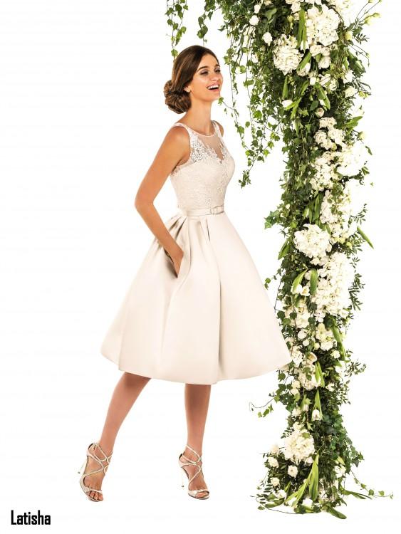 Платье Свадебное По Колено Купить