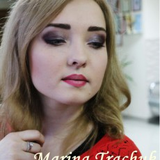 make up Marina Trachuk
