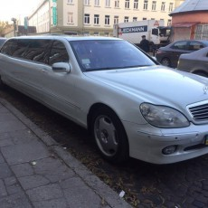 Лімузин Mercedes-Benz S600 BRABUS Long | Львів