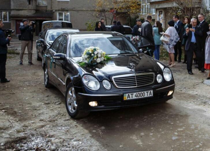 aa75d70f12173d Mercedes-benz - Весільний кортеж   Івано-Франківськ