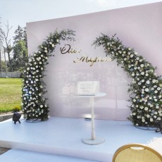 Mary event decor
