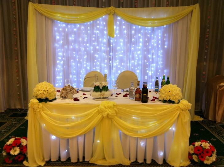 Оформляем свадебный зал 4