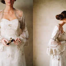 Фото: Elizabeth Messina; Сукні та стиль: Claire Pettibone; Make up: Stephanie Lawrence; Модель: Ciara Christensen; Venue at Sunstone Winery