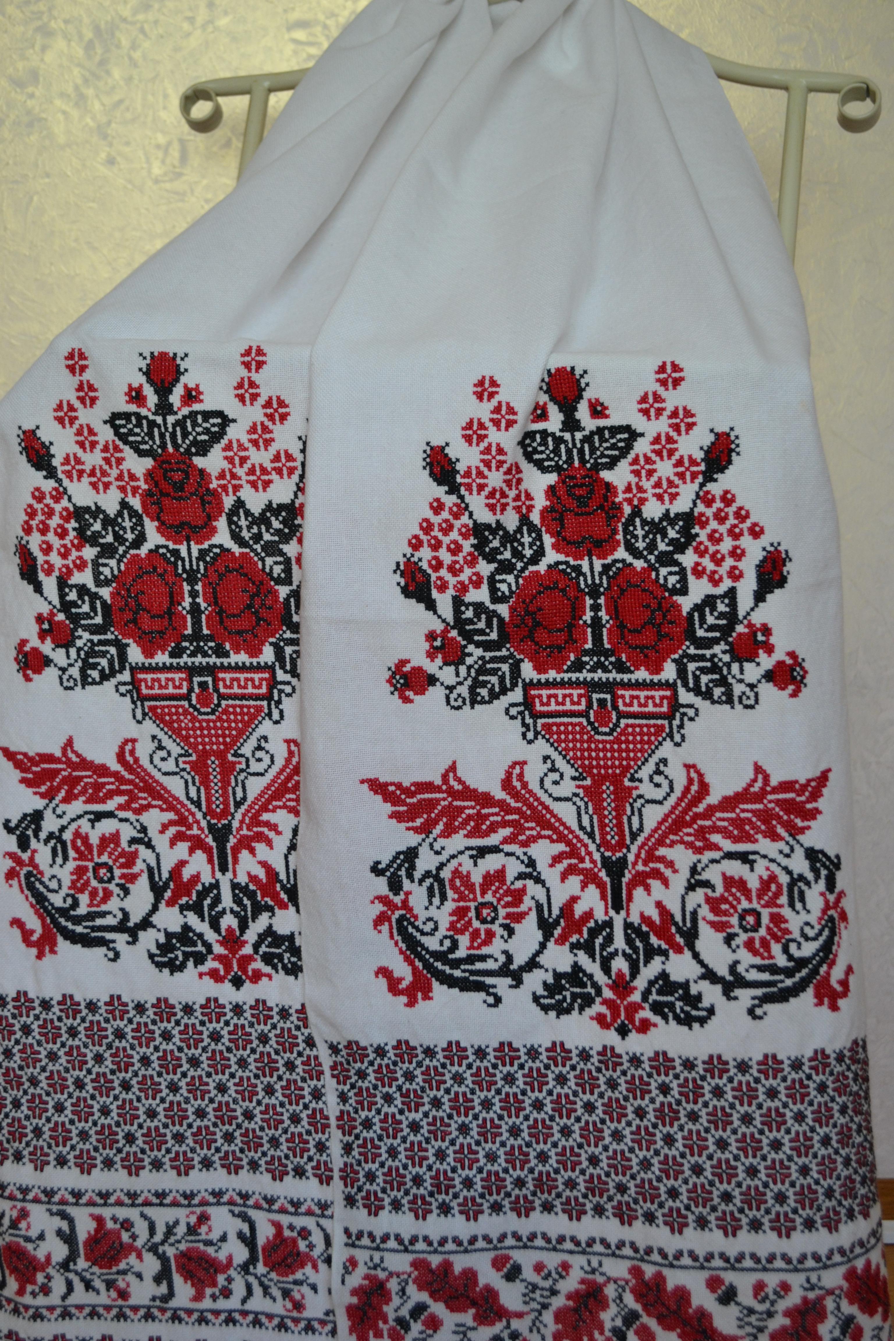 Весільний рушник  які візерунки – така доля 52d4efb5b0b30
