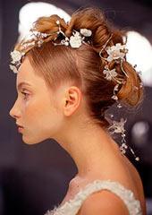 Весільні зачіски 2008 оригінальні ідеї