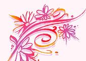 Авто живі квіти квіти в волоссі