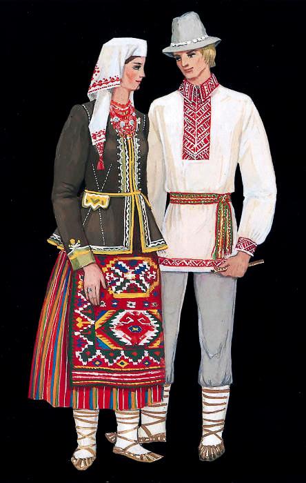 українські костюми картинки